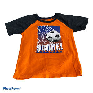 Oshkosh 5T Orange Soccer Shirt